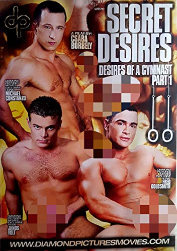 Sex DVD GAY Secret desires of a gymnast part 1 DIAMOND PICTURES MOVIE dp11 - Adult Gay Dvd