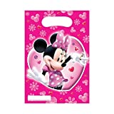 Mickey & Minnie Mouse Minnie Mouse Pink Geburtstag Party Beute Tüte x 6