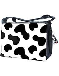 Luxburg® uk-nb-sb-10014–17–05–01Design sac bandoulière pour ordinateur portable 17Avec Bandoulière–Cuir de Vachette