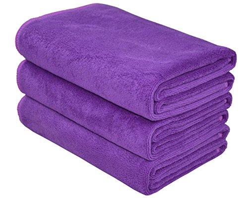 40cm X80cm Hope Shine juego de toallas gimnasio microfibra secado r/ápido toallas deportivas suaves Paquete de 3