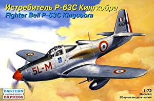 "Ark modèles ee72141Echelle 1: 72""Bell p-63C kingcobra American Fighter"" modèle en plastique"