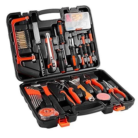 Tool Kits, 100 Pcs Precision Tool Maintenance Multi-functional Repair Hardware Instrumental Sets Home Robust lightweight Universal