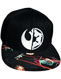 Star Wars Death Star Fight Sublimated Bill Snapback Baseball-Cap