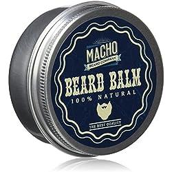 Macho Beard Company Beard Balm Tratamiento Facial - 45 ml