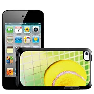 Fancy A Snuggle Tennis Ball Going Straight Into Net Design Hard Back Case Cover for Apple iPod Touch 4th Generation