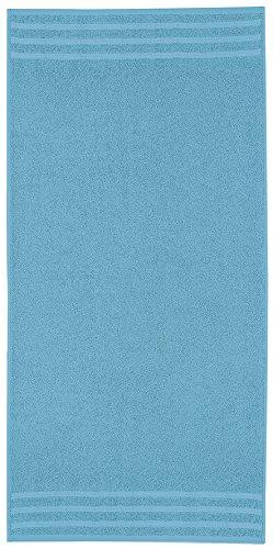 Kleine Wolke 3003778201 Royal Serviette Invité Coton Turquoise 30 x 50 cm
