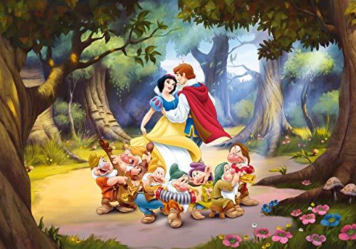 AG Design FTD 0252  Disney Prinzessin Schneewittchen Snow white, Papier Fototapete - 360x254 cm - 4 teile, Papier, multicolor, 0,1 x 360 x 254 cm
