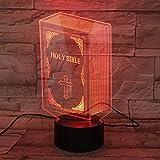 PDDXBB 3D LED Lamp 7 Color Change USB Night Light Desk Lamp Kids Gifts Room Decor...