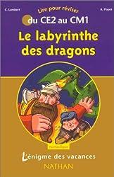 L'Énigme des vacances : Le Labyrinthe des dragons, lire pour réviser du CE2 au CM1