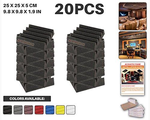 ace-punch-20-piezas-negro-cuna-studio-foam-panel-aislamiento-acustico-tratamiento-espuma-acustica-co