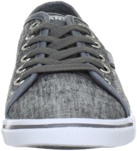 Vans Ferris Lo Pro, Baskets mode femme Gris (Textile/Grey/White)