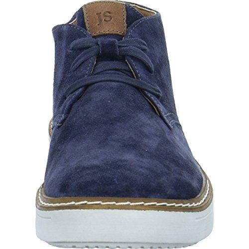 Josef Seibel Quentin 09, Sneaker a Collo Alto Uomo Blau (jeans-kombi)