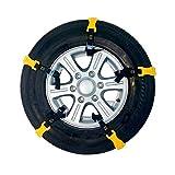 KDKDA 10 Pcs Chaînes universelles for pneus Chaînes Anti-dérapantes for la Neige...