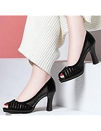 HUAIHAIZ Damen High Heels Pumps Hochzeit Schuhe Stiefel crystal Brautschuhe Wasser bohren mit hochhackigen Schuhe...