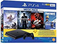 Sony PlayStation 4 Slim 500GB Mega Pack Bundle