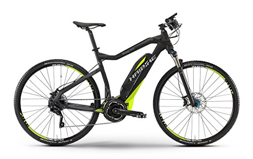 HAIBIKE-Sduro-Cross-SL-Herren-schwarzlimegrau-matt-Rahmengre-52-cm-2016-E-Crossbike