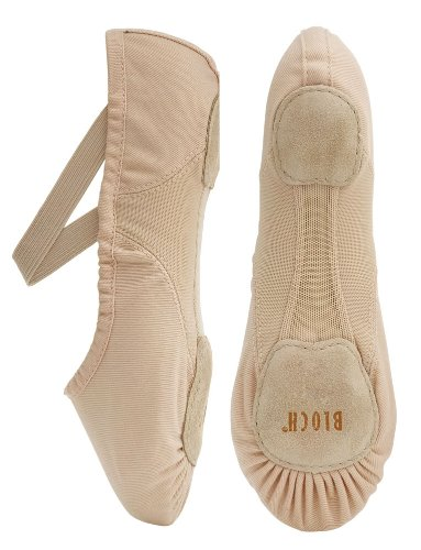 Bloch 210 Rosa Proflex Canvas Ballet 7.5L B Fitting