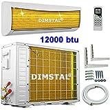 A++/A+ Golden-Fin 12000 btu 3,5kW Split Klimaanlage INVERTER Klimagerät und Heizung