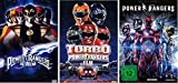 Power Rangers 1-3 DVD Set, deutsch, Powerrangers I,II,III, 1,2,3 dvds, keine Box