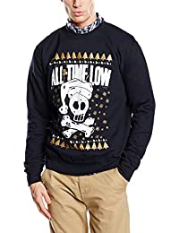 Plastic Head All Time Low Christmas Skull Csw, Sweat-Shirt Homme