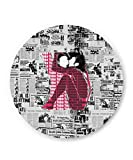 PosterGuy John Lennon And Yoko Ono Kissing | Beatles Music Legend Fridge Magnet