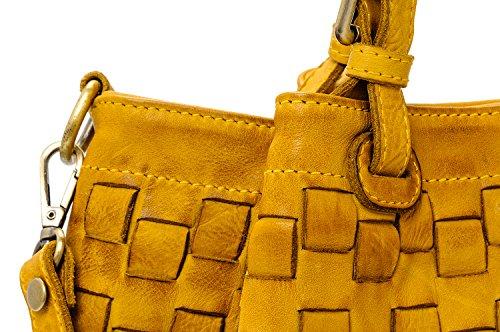 Caraibica bag vintage Moutarde