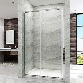 Sogood paroi de douche porte de douche coulissante verre de s/écurit/é cabine de douche vitrification Nano Ravenna12 75X140X195