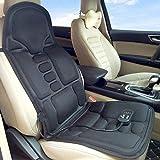 Car Massage Cushion Back Neck Massager Shiatsu Massage Seat Cushion Heat Massage Chair Pad for Office Home Car