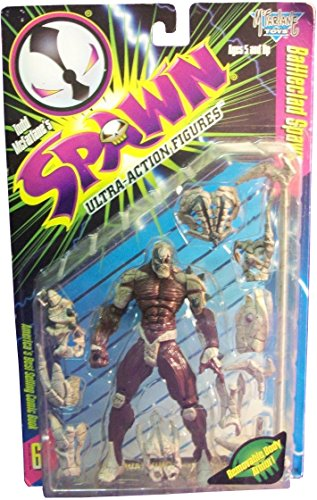 Todd McFarlane\'s SPAWN ULTRA Action Figures: BATTLECLAD SPAWN, Removable Body Armor