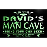 pb006-g David's Man Cave Cowboys Bar Neon Light Sign Barlicht Neonlicht Lichtwerbung