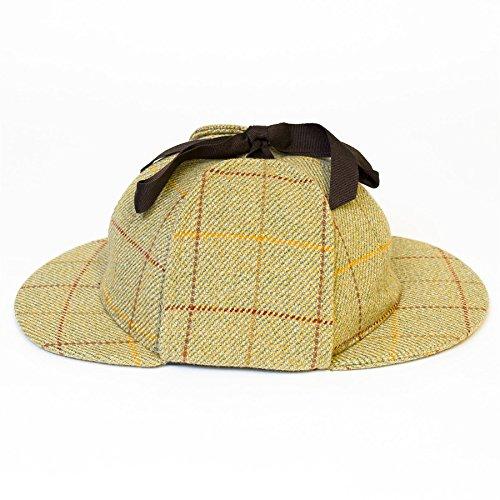 Chapeau style Sherlock Holmes Beige