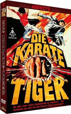 Die Karate-Tiger - Uncut - Anolis Hardbox Series