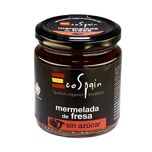 Erdbeermarmelade ohne Zucker mit Stevia 275 gr. Onhe Farb- und Konservierungsstoffe. Gluten-frei. Gourmet (Ananas Kostüm Selbstgemacht)