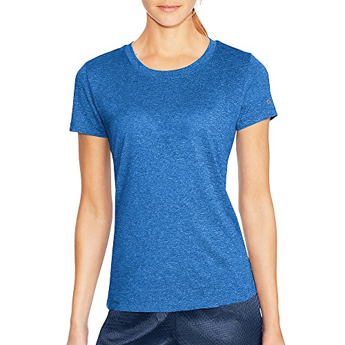 Champion Womens Powertrain Heather Tee Surf the Web Heather