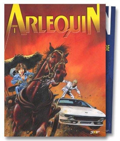 Arlequin, (coffret) tome 1 à 3 : Les Eléphants se plument a l'aube - L'As, le roi, la dame et le valet - La Baleine qui chantait faux