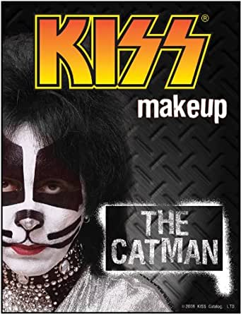 Fun Costumes Buyseasons Kiss - Catman Makeup Kit- White