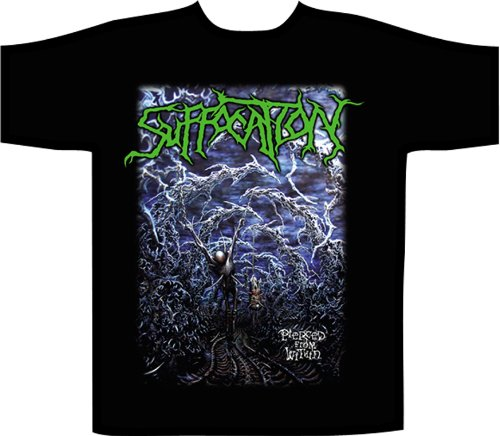 Suffocation -  T-shirt - Uomo nero nero XL