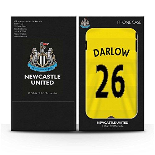 Officiel Newcastle United FC Coque / Clipser Brillant Etui pour Apple iPhone 7 / Pack 29pcs Design / NUFC Maillot Domicile 15/16 Collection Darlow