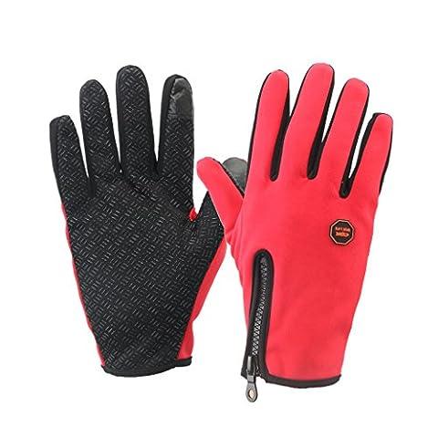 Skysper Winter Fahrradhandschuhe Mountainbike-Handschuhe, Herren und Damen