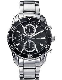 Mark Maddox HM6005-57 - Reloj de cuarzo para hombre, correa de acero inoxidable color plateado