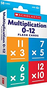 Flash Cards: Multiplication 0 - 12