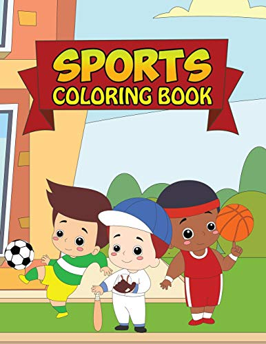 Cabrera Jersey (Sports Coloring Book: Coloring Books For Boys with Cool Sports And Athletic Games - All Star Activity Book with Football, Baseball, Soccer, Basketball, Tennis, Hockey)