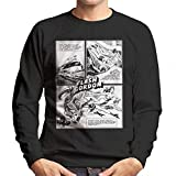 Flash Gordon Dale Holiday Comic Strip Men's Sweatshirt
