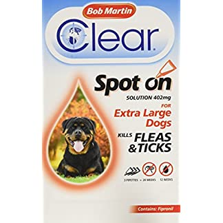 Bob Martin Flea Clear Fipronil Spot on 3 Tube for Extra Large Dog 51PQNBt44dL