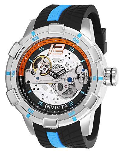 Invicta Homme Analogique Automatique Montre avec Bracelet en Silicone 26618