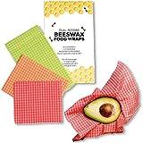 Beeswax Wrap Zero Waste Food Wraps Reusable Eco Friendly Plastic Alternative