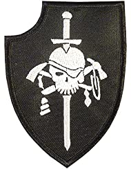 US Navy Seals Silver Squadron Kopfjager DEVGRU ST6 NSWDG Morale Sew Iron on Patch