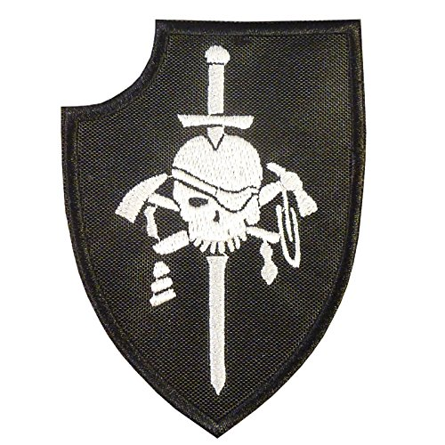 2AFTER1 US Navy Seals Silver Squadron Kopfjager DEVGRU ST6 NSWDG Morale Hook-and-Loop Patch