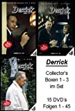 Derrick - Collector's Box 1-3 (15 DVDs)