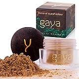 Gaya Cosmetics Vegan Lidschatten Pulver – Mineral Premium Makeup für ein gleichmäßiges homogenes & dynamisches Farbbild (SH2 Shade)